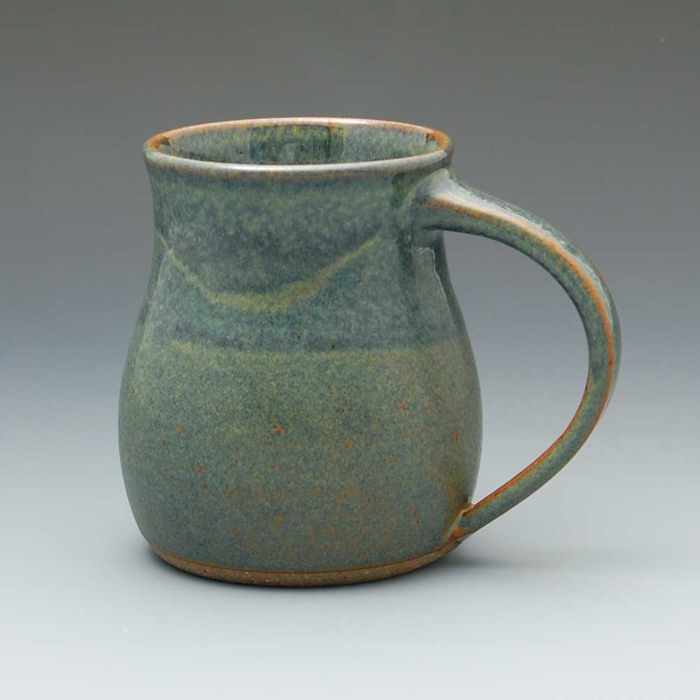 Mug, Dark Blue Glaze
