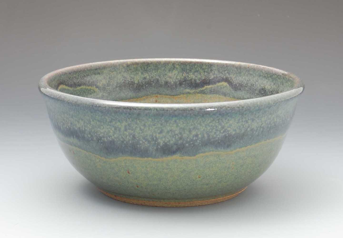 Serving Bowl, Dark Blue Glaze