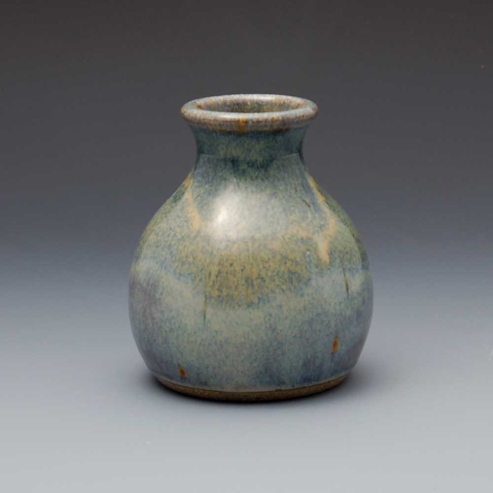 Vase, Light Blue Glaze