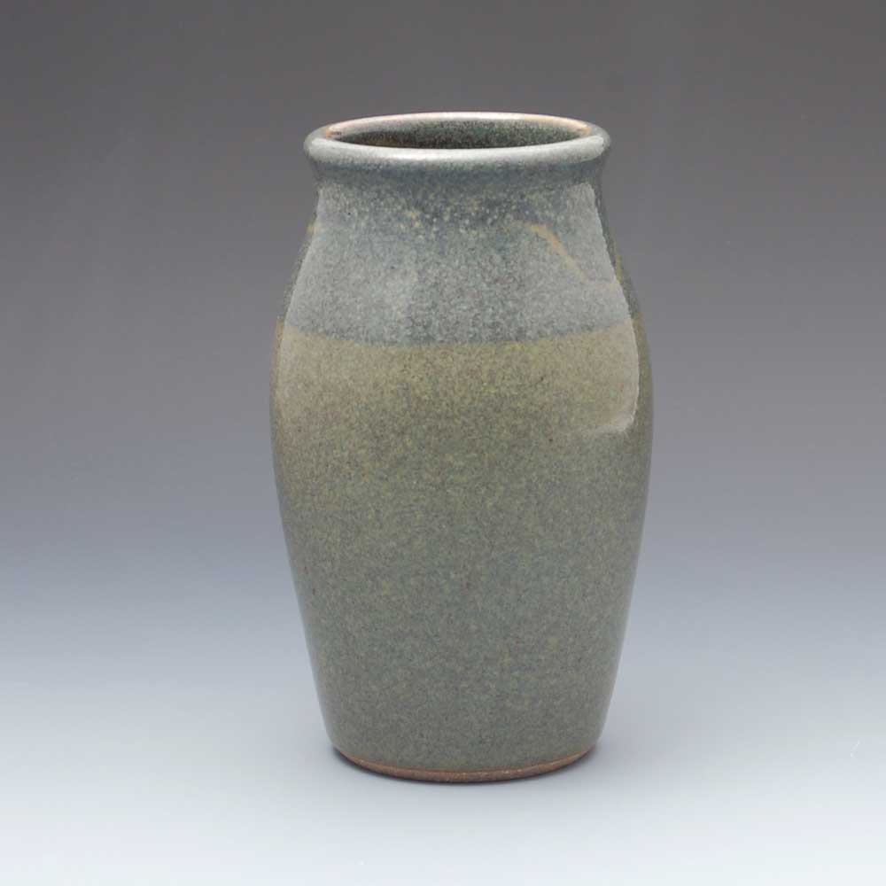 Vase, Dark Blue Glaze