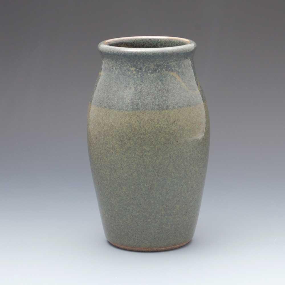 Vase, Dark Blue Glaze