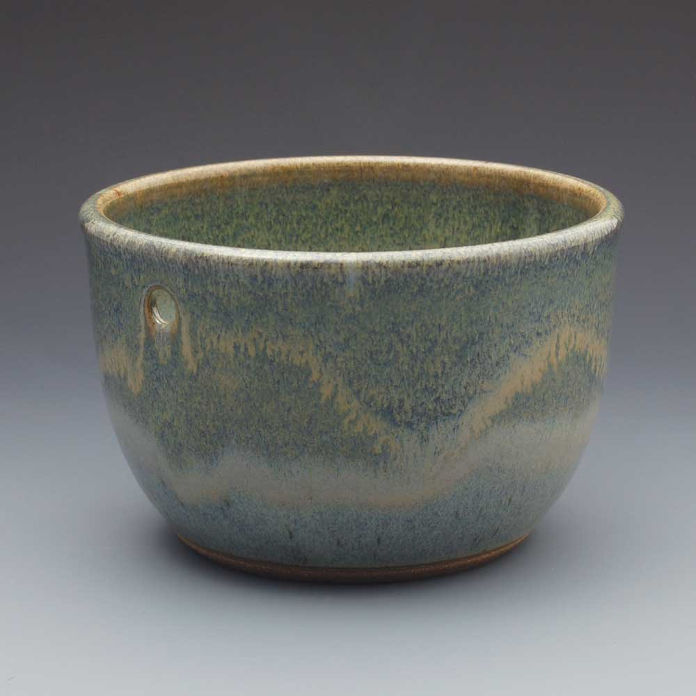 Yarn Bowl, Blue Glaze