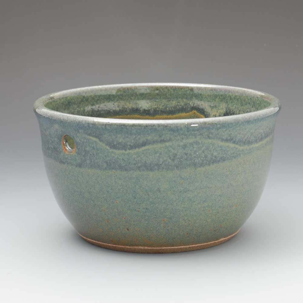 Yarn Bowl, Light Blue Glaze
