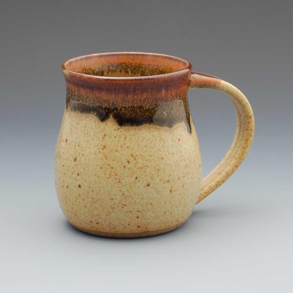 Mug, Tan Glaze